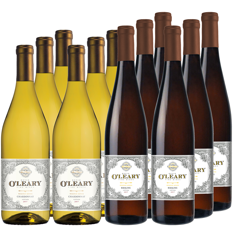 O'Leary Holiday Selections 12-bottle All White