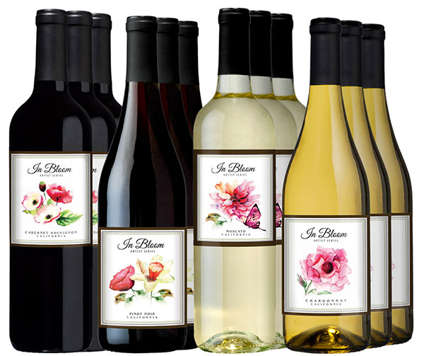 VWE In Bloom Series 12-bottle Variety