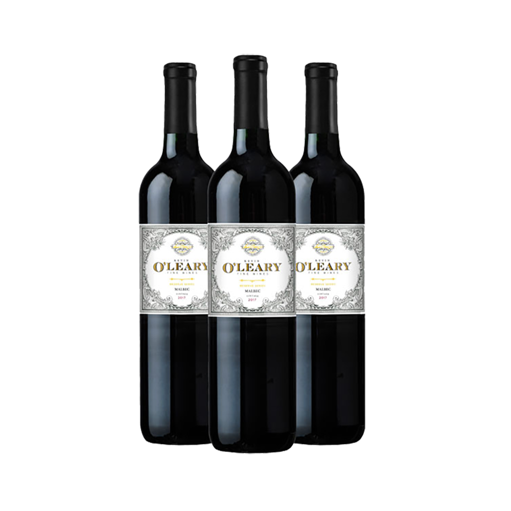 Kevin O'Leary Reserve 3-bottle Malbec