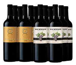 M54789-848 VWE 12-Bottle Best of California  Set - All Red