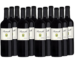 M55737-849 Bertinelli Estates 12-bottle All Red