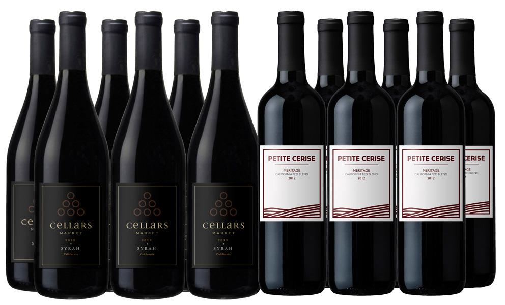 Vintage Wine Estates Sonoma Harvest - All Reds 12-Bottle ...