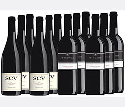 M55571-849 VWE Harvest 12-bottle All Red Wine Set