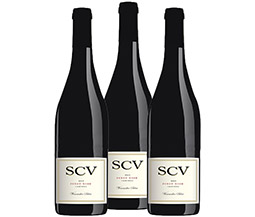 M55570-850 VWE Harvest 3-bottle 2016 SCV Winemaker Select Pinot Noir Wine Set
