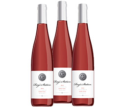 M55570-848 VWE Harvest 3-bottle 2016 Ray's Station Reserve Rose Wine Set