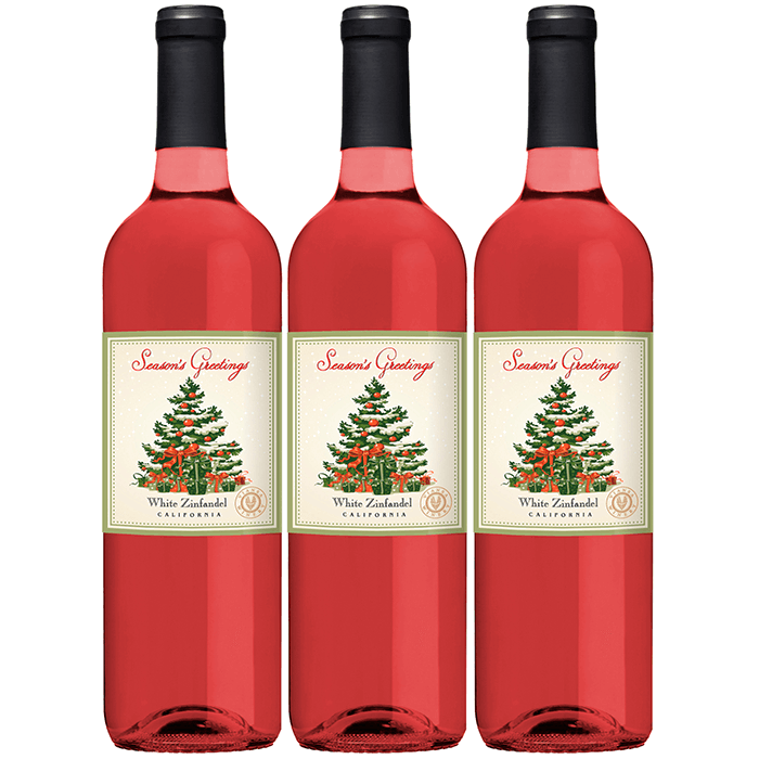 VWE Holiday 3-Bottle Set White Zinfandel