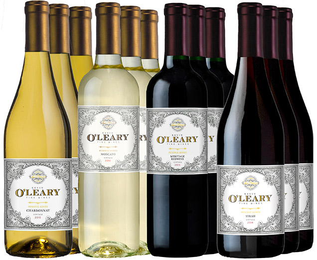 M56941-850 O'Leary Holiday Case 12 Bottle Set Variety