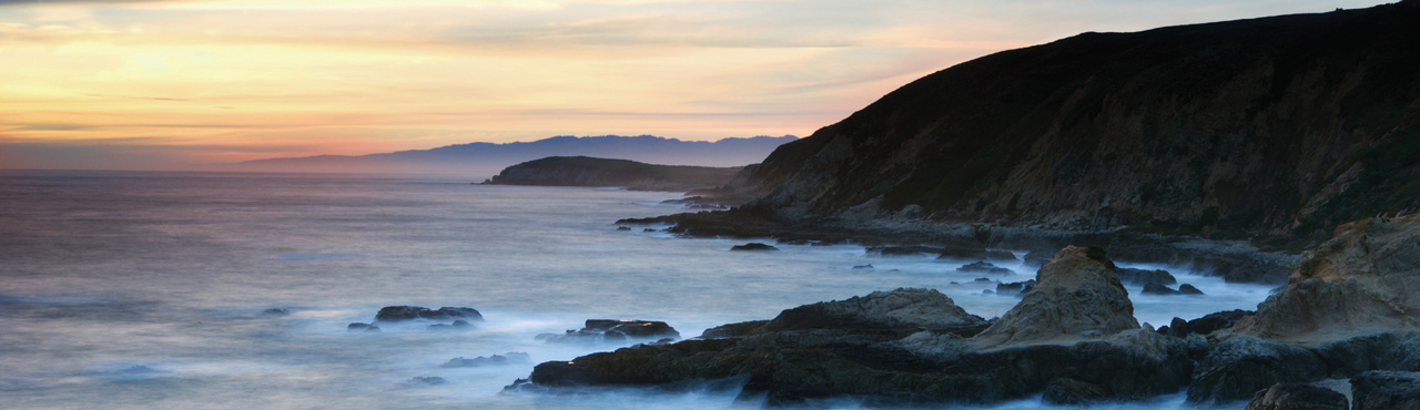 Sonoma Coast Sunset - Banner